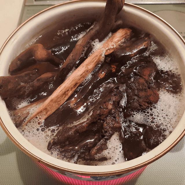 流木-アク抜き方法-煮沸-煮沸処理-手順-熱湯