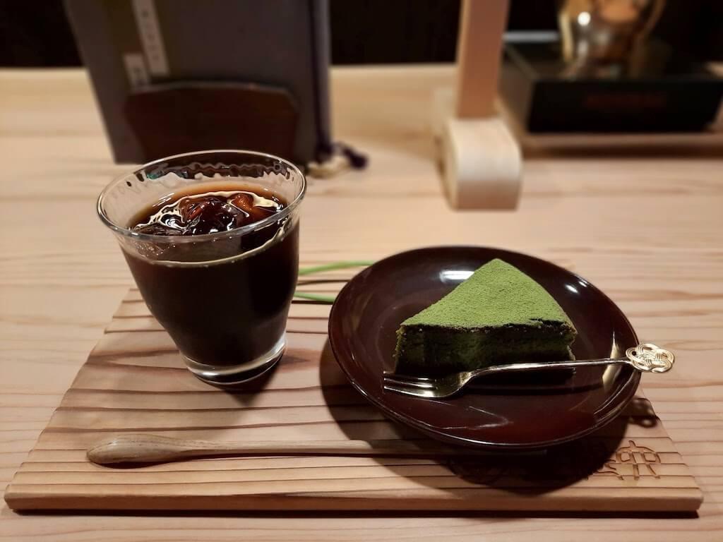 滋賀県米原市-青岸寺-喫茶去kissa-ko-アイスコーヒー