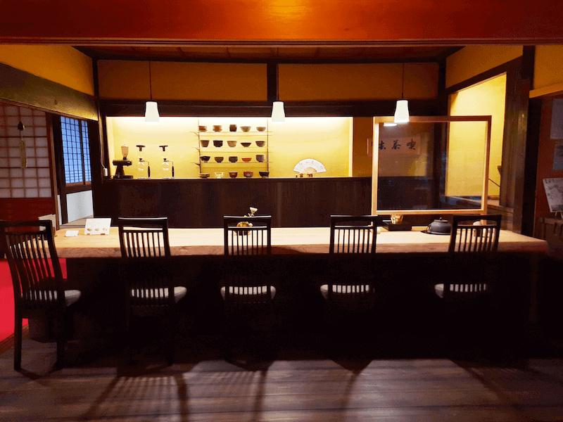 滋賀県米原市-青岸寺-喫茶去kissa-ko-カウンター席