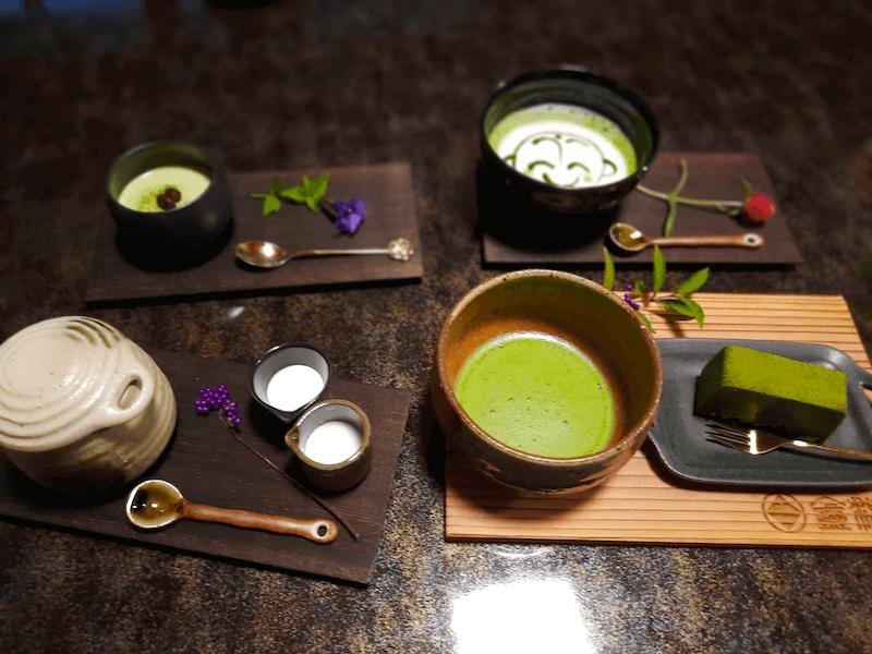滋賀県米原市-青岸寺-喫茶去kissa-ko-抹茶-ブレンドコーヒー