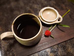 滋賀県米原市-青岸寺-喫茶去kissa-ko-飲み物-ブレンドコーヒー