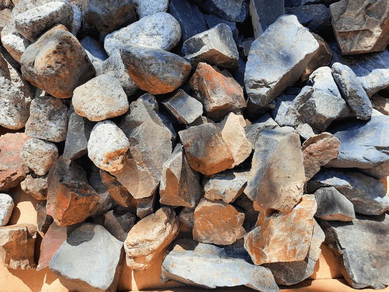 アクアリウム -水草水槽-石組レイアウト-レイアウト方法-川辺-自然採取-いろんな石