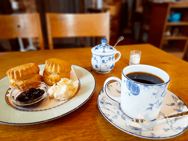 滋賀県-彦根市-カフェ-cafe-珈琲-コーヒーcoffee-cantata-メニュー-ブレンド-スコーン