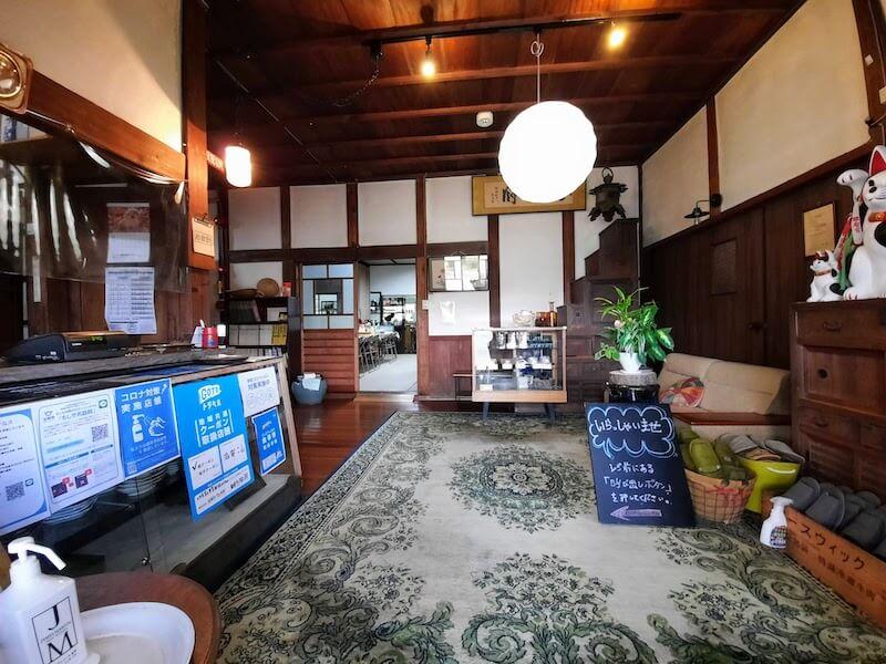 滋賀県-近江八幡市-円山町-ユースホテル-カフェ-ハコテアコ-hakoteako-ユースホテルロビー