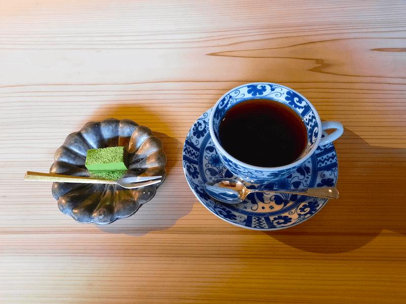 滋賀県-近江八幡市-玉屋町-旅籠八-わかつ-カフェ-さんずい-氵-メニュー-珈琲-コーヒー