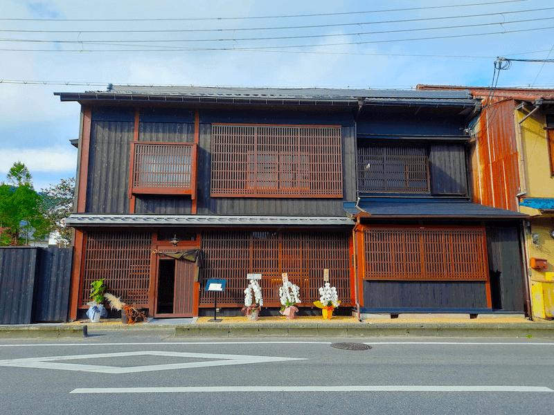 滋賀県-近江八幡市-玉屋町-カフェ-さんずい-氵-外観
