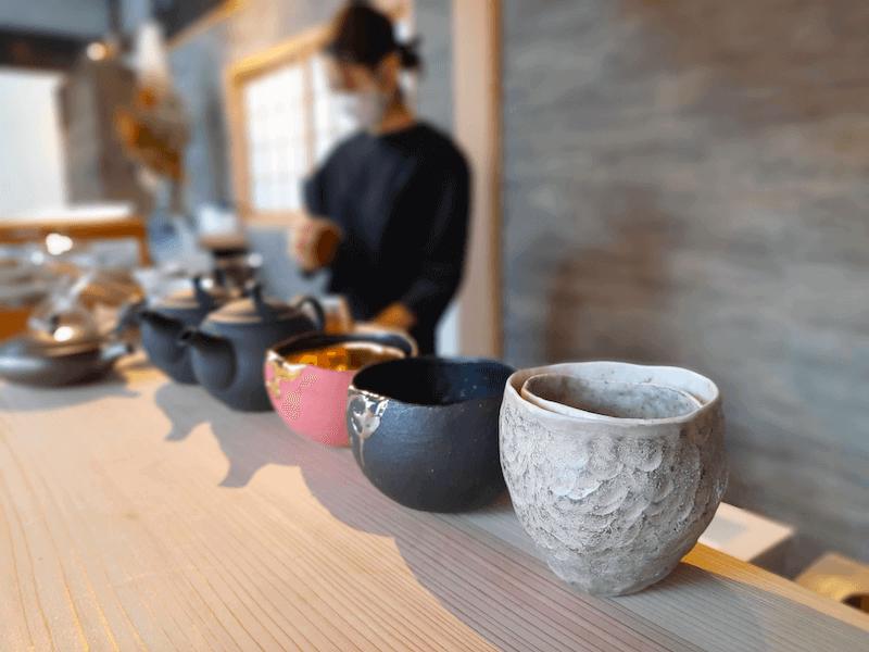 滋賀県-近江八幡市-玉屋町-カフェ-さんずい-氵-食器-陶器
