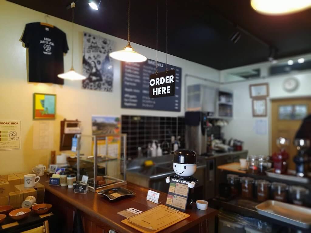 滋賀県-彦根市-古沢町-カフェ-cafe-micro-lady-マイクロレディーコーヒースタンド-珈琲-コーヒーcoffee-レジ-オーダー