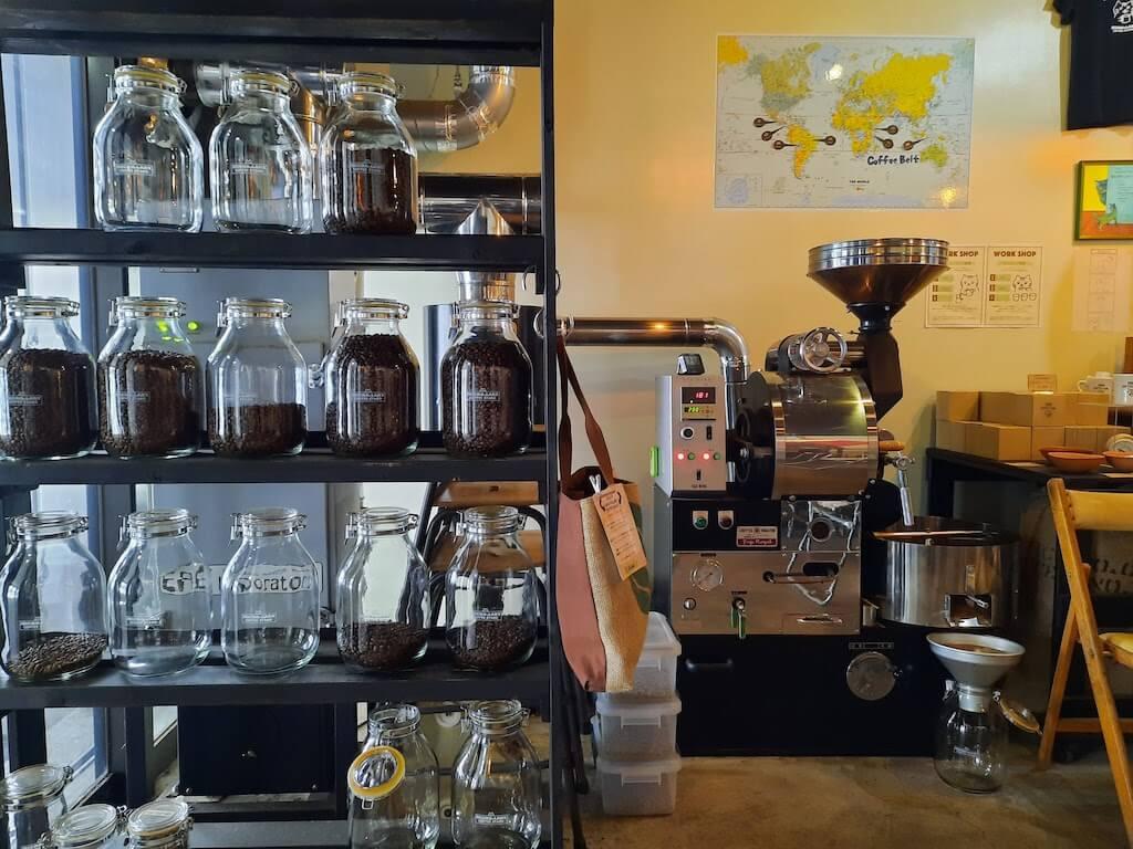 滋賀県-彦根市-古沢町-カフェ-cafe-micro-lady-マイクロレディーコーヒースタンド-珈琲-コーヒーcoffee-珈琲豆